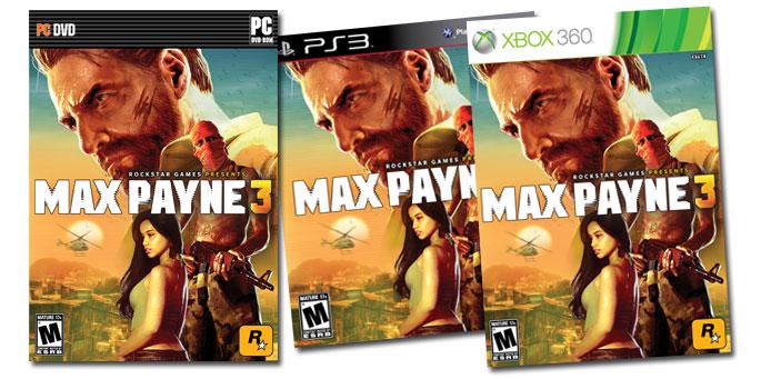 Max Payne 3 Artbox PS3, Xbox 360, PC