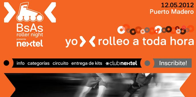 Nextel: Buenos Aires Roller Night 2012
