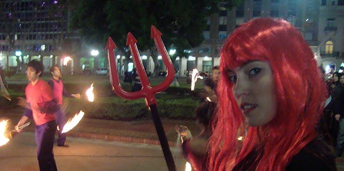Diablo III: Juntada en Plaza de Mayo (Buenos Aires)