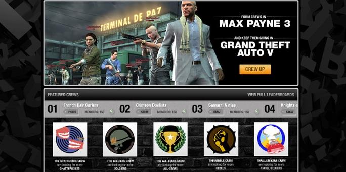 Ya podés crear tu pandilla en Rockstar