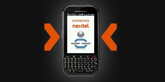 Contactos Nextel
