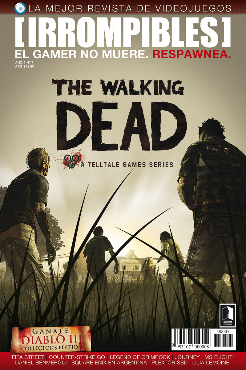 Revista [IRROMPIBLES] 07: THE WALKING DEAD