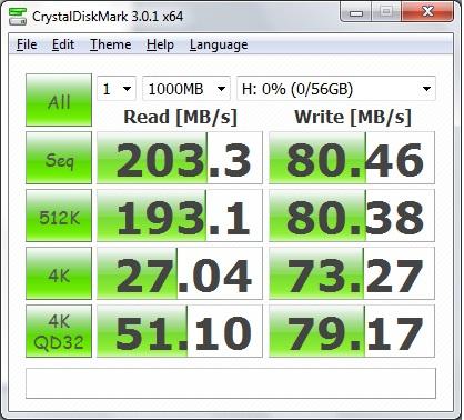 CrystalMark SSD