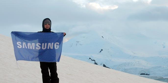 Samsung: Memorias de la Antártida