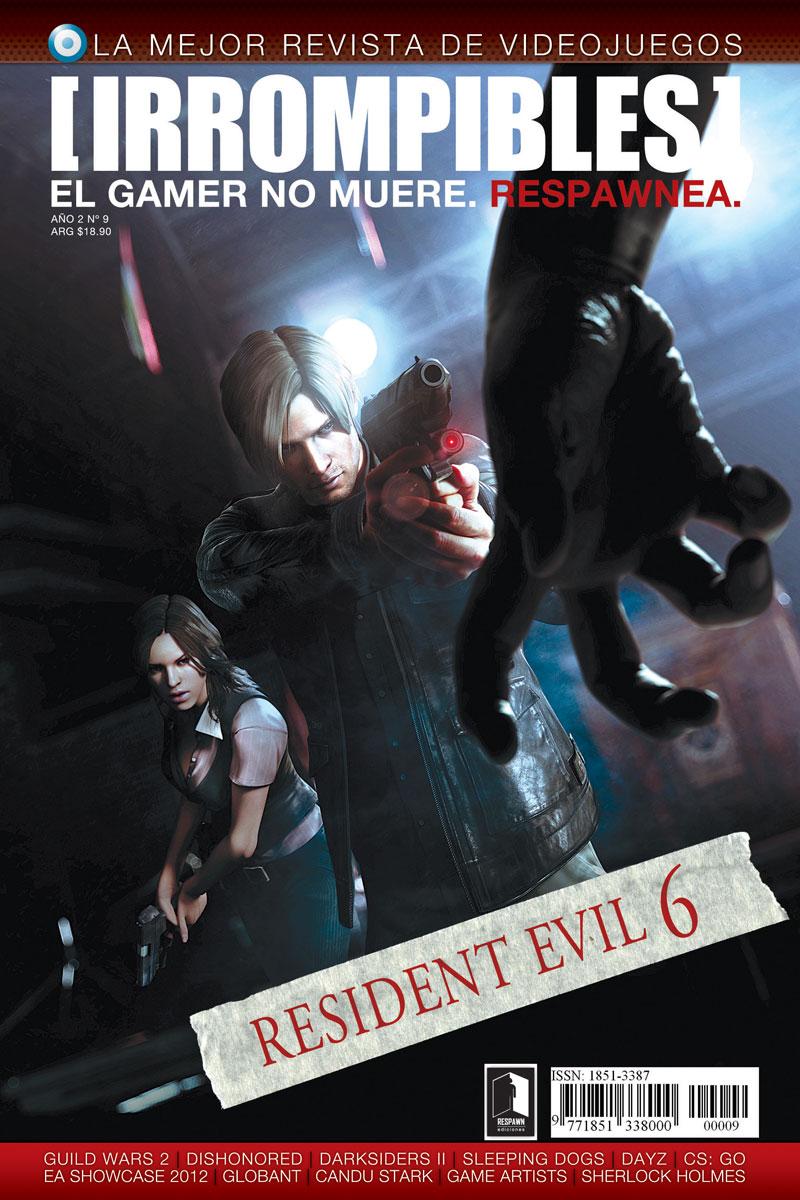 Revista [IRROMPIBLES] 09: RESIDENT EVIL 6