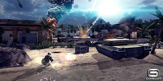 Gameloft's Modern Combat 4