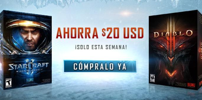 Promociones Black Friday en Blizzard para America Latina