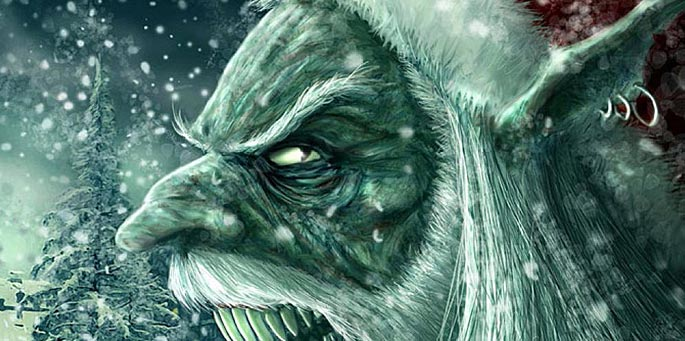 El monstruo de la Navidad
