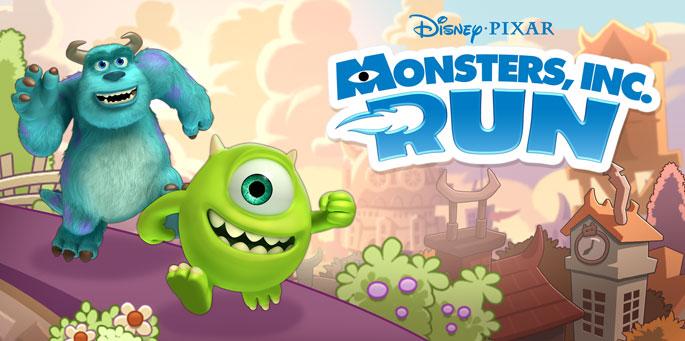 Disney Pixar Monsters Inc Run