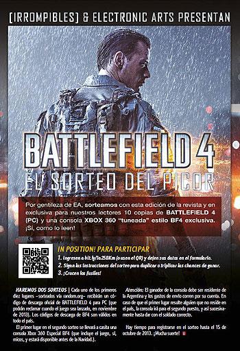 i14 Sorteo Battlefield 4
