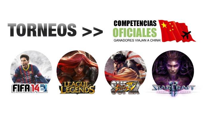 World-Cyber-Games-2013 torneos