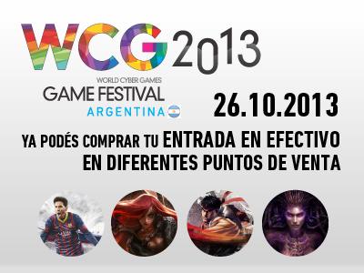 wcg entrada