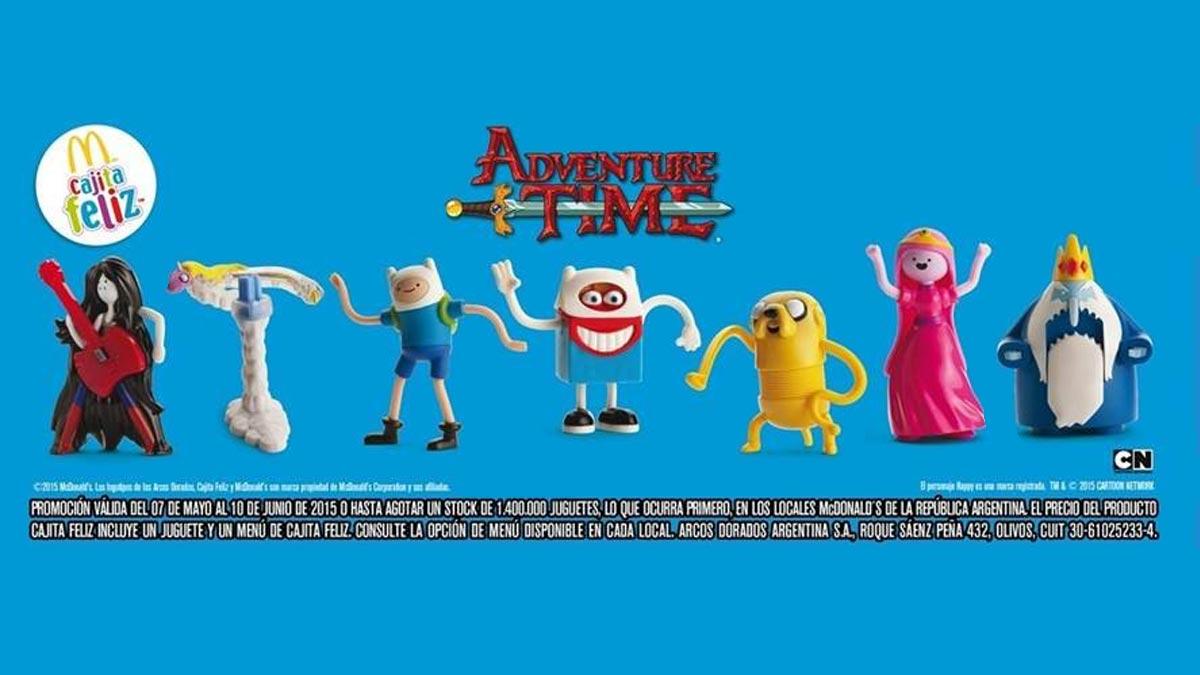 Adventure Time Cajita Feliz