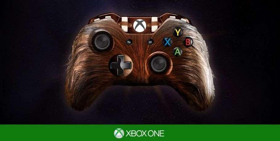 star wars xbox one controller concept 1