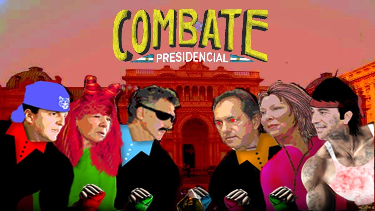 combate presidencial