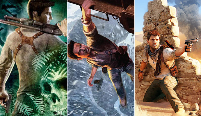 uncharted 3 games