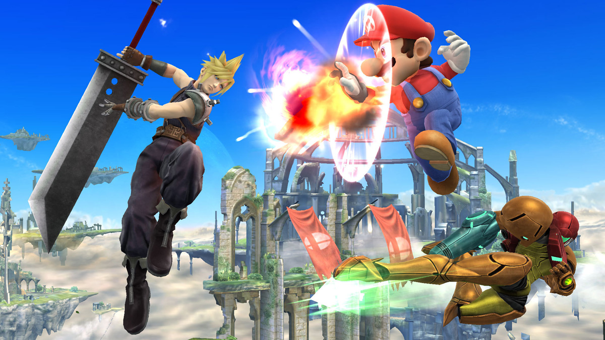 cloud smash nintendo direct