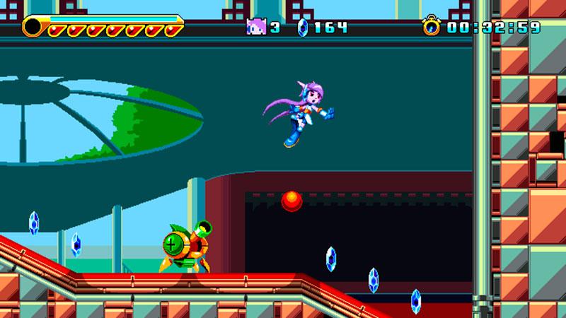 freedom planet 2 screenshot