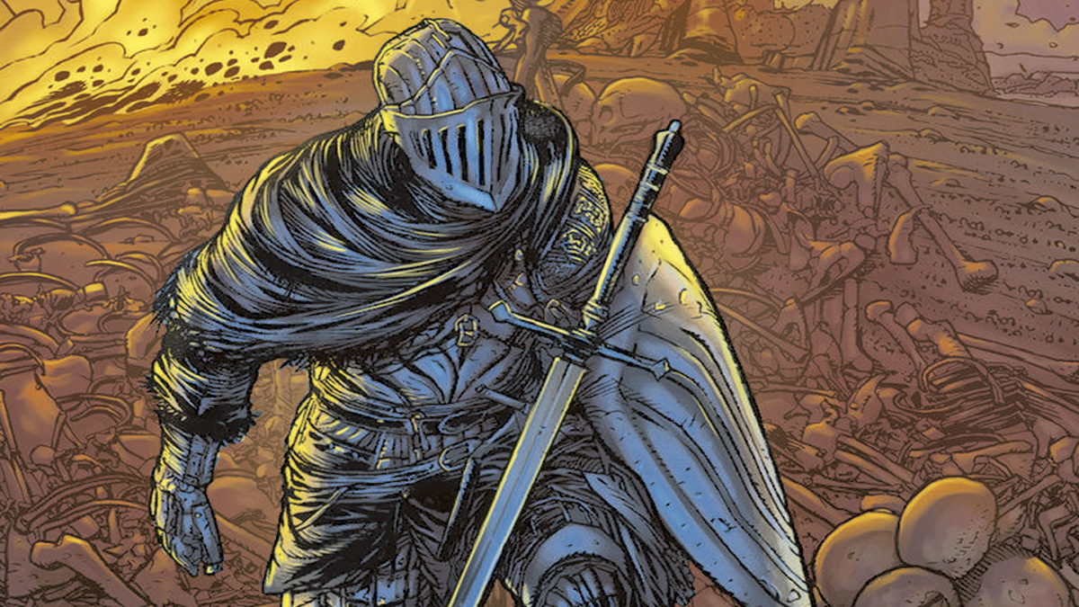 dark souls comic main