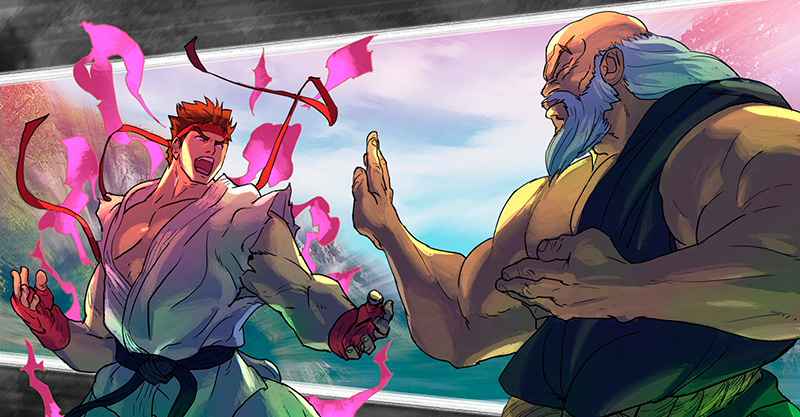 street fighter art
