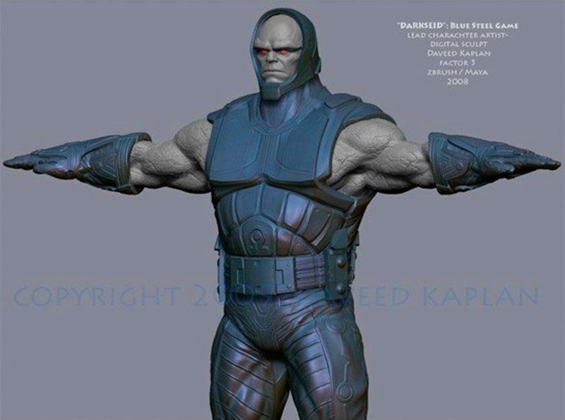 blue steel darkseid
