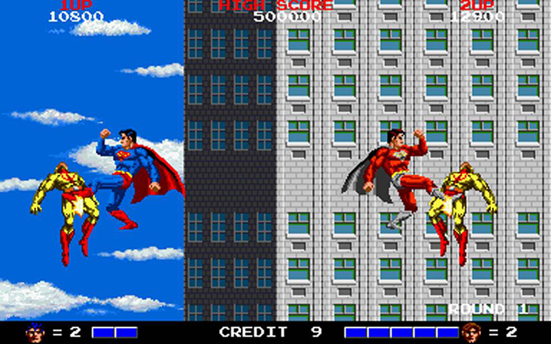 superman arcade taito