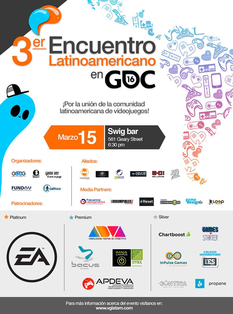 gdc latinoamericano 2016 flyer