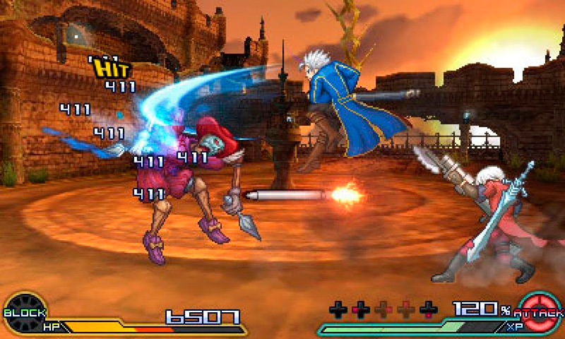 project x zone 2 4