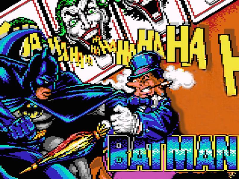 batman 8 bits