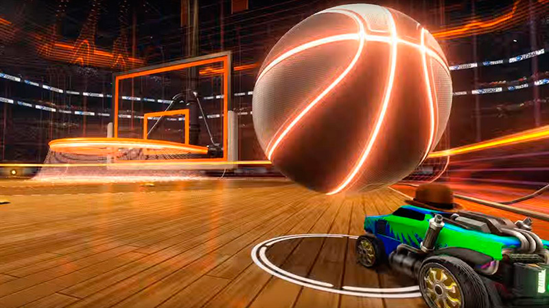 rocket league basketball 2