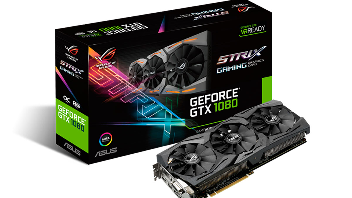 gforce asus strix 1080