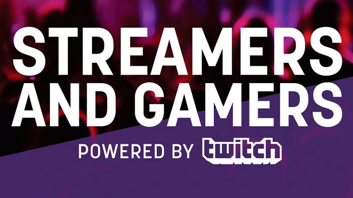 streamers gamers twitch