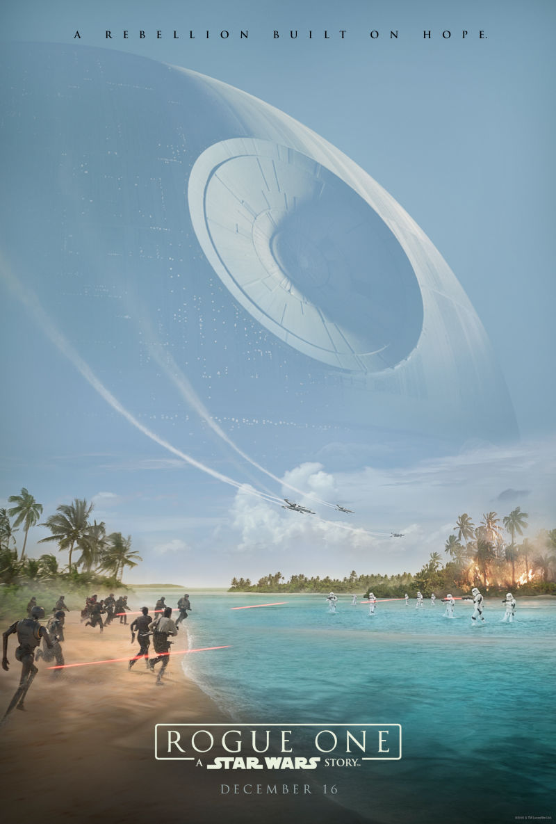 rogue one celebration poster big