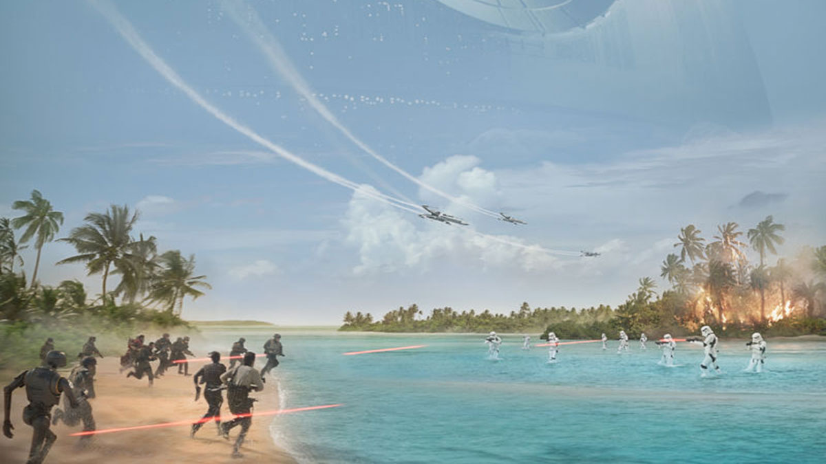 rogue one celebration poster