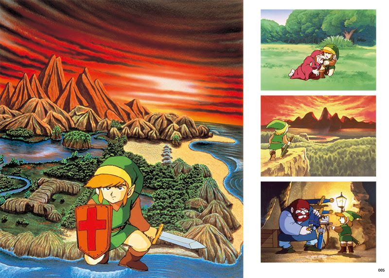 zelda art artifacts