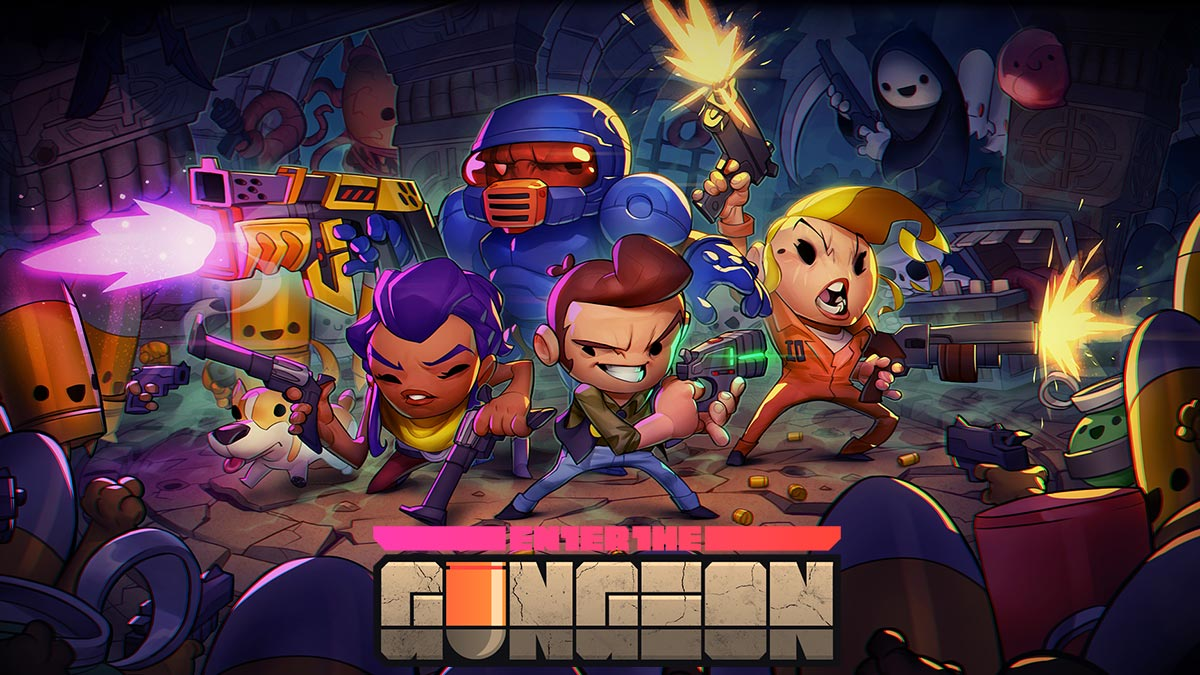Enter the Gungeon keyart