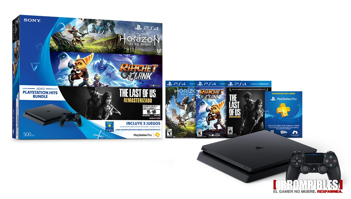 PlayStation Hits Bundle llega a la Argentina