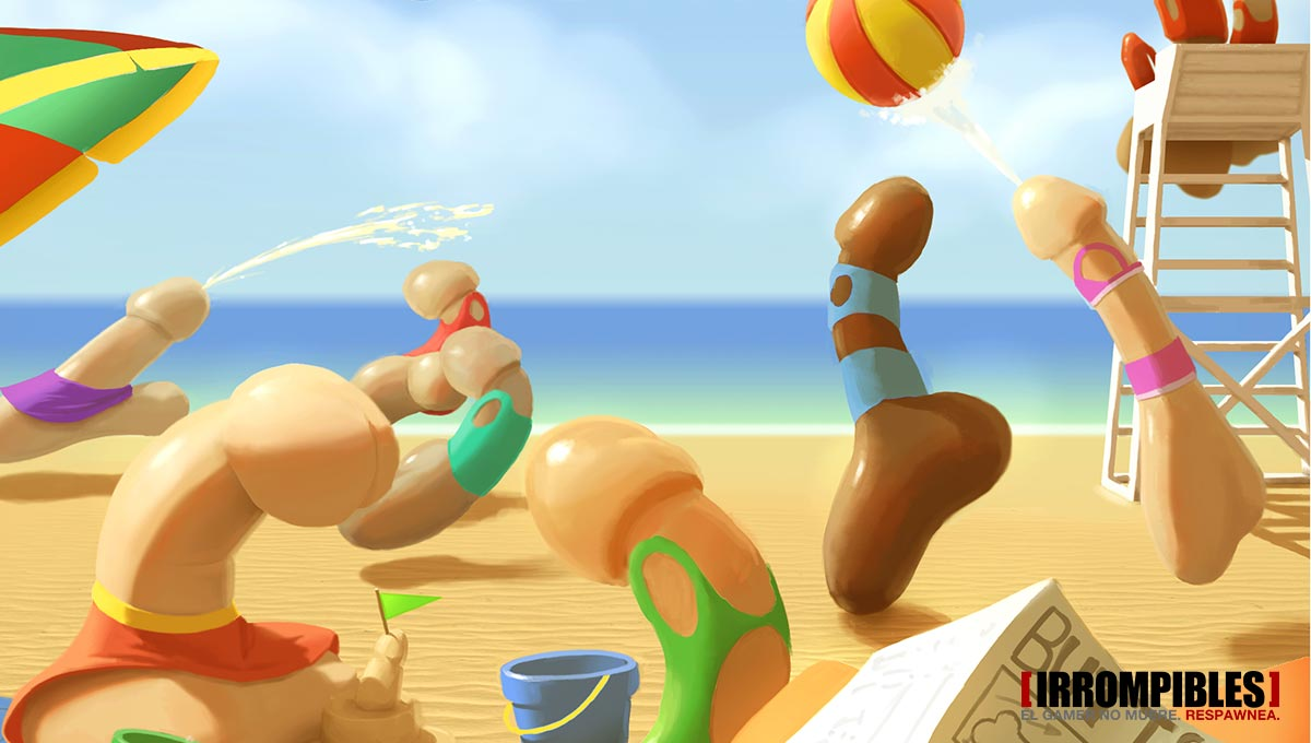 Genital Jousting Wet Hot Summer