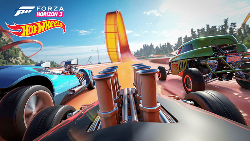 forza horizon hot wheels 1