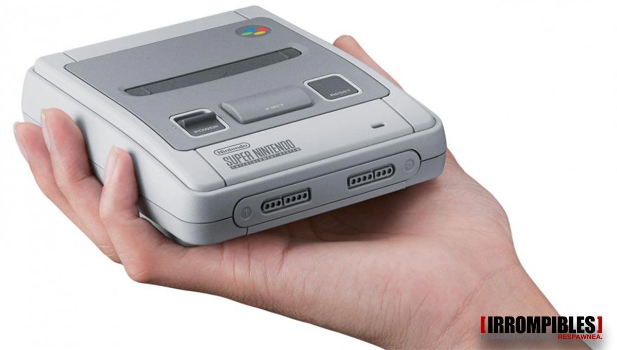 Nintendo Mini Super NES irrompibles 01