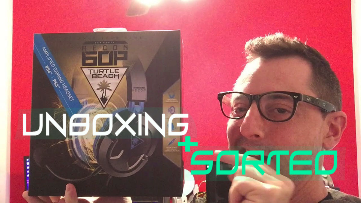 unboxing turtle beach