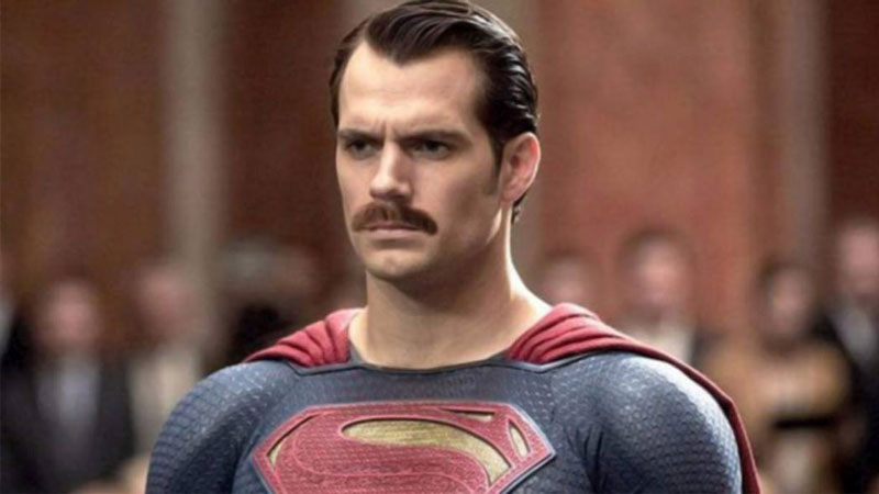 justice league bigote