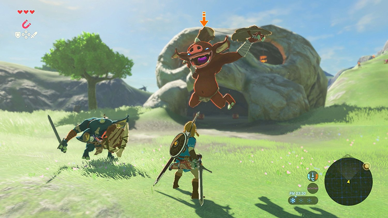 legend zelda breath wild 1