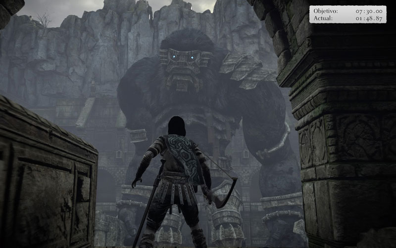 shadow colossus time attack