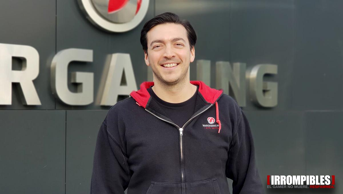 world of tanks interview eduardo paredes
