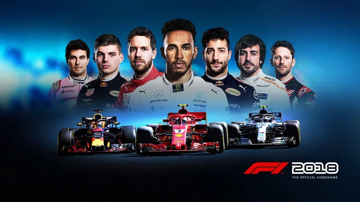 F1 2018 header