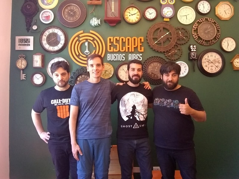 escape bs as 2 grupal