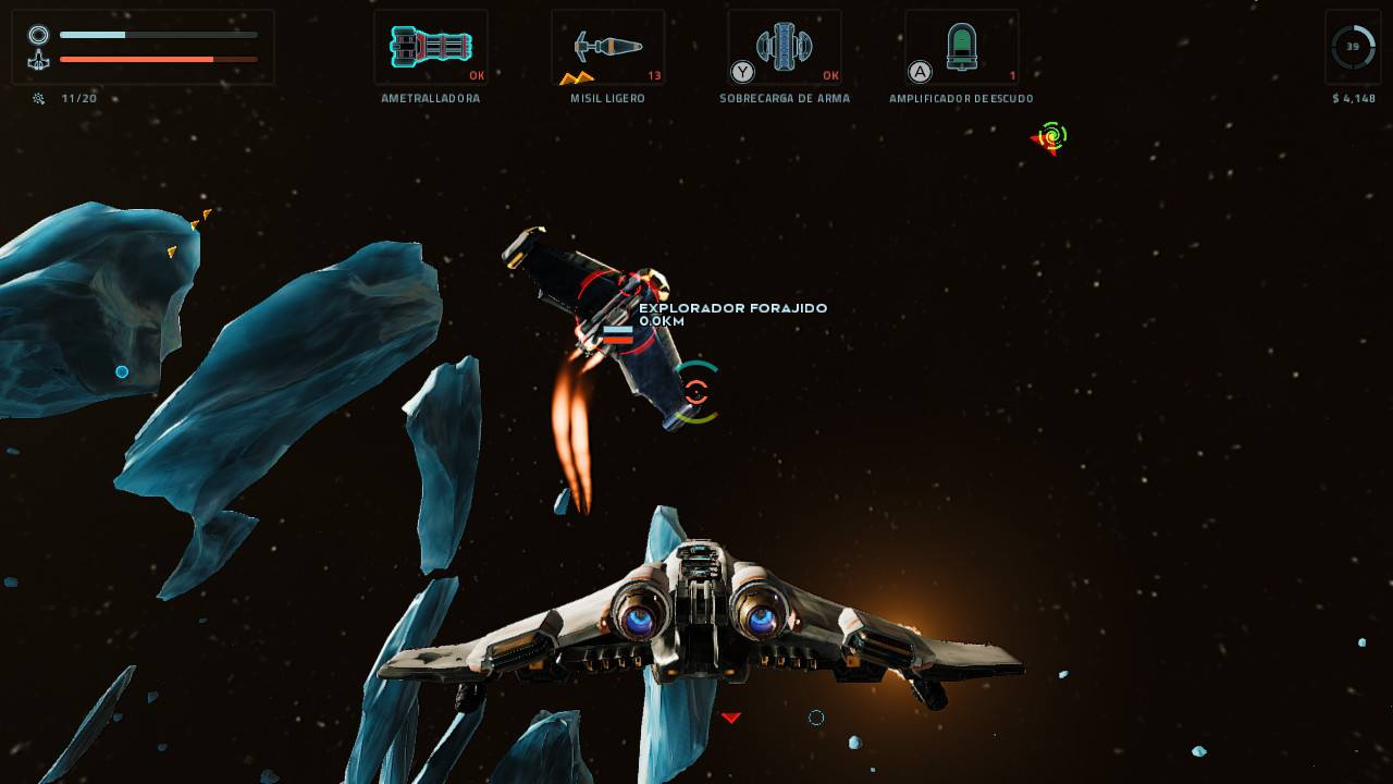 EVERSPACE Stellar Edition combate 2