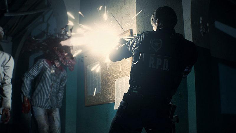 resident evil 2 headshot